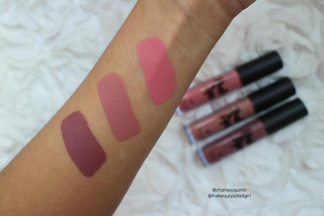3 Lipsticks Kiss-Proof